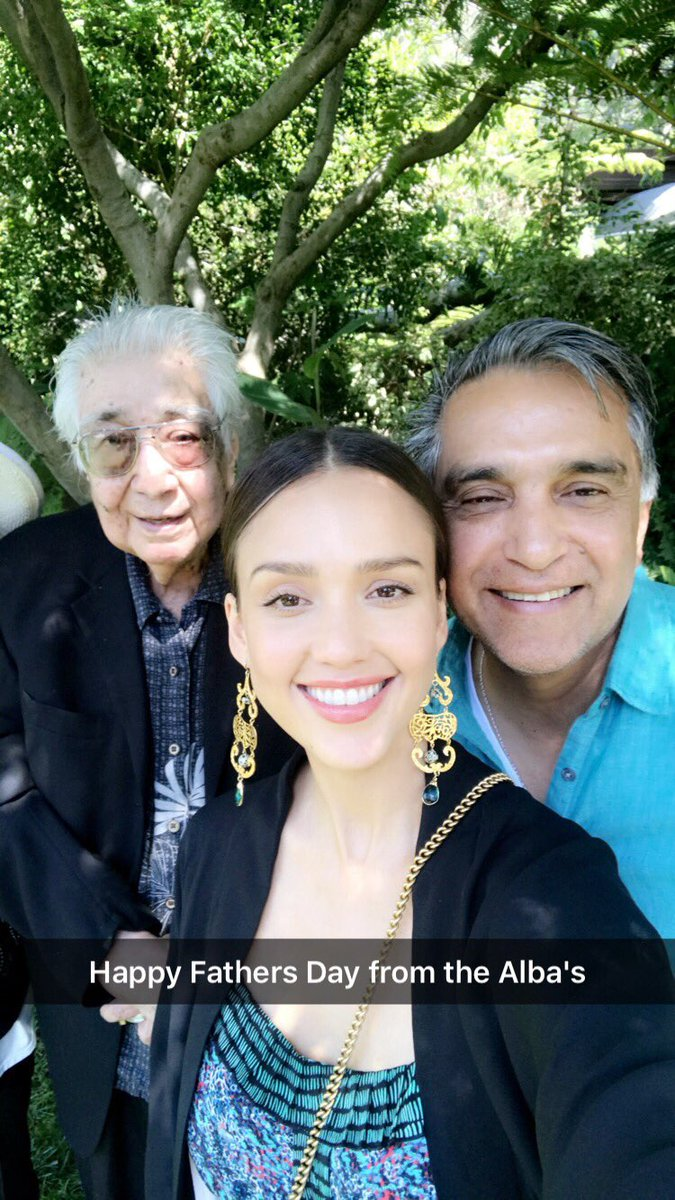 Happy Fathers Day to my papasito #MarkAlba and my grampers @JoséAlba love you both so much! #blessed #grateful https://t.co/T4nxBWhRt0