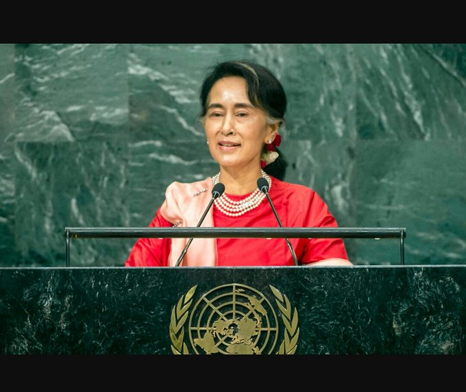 Happy Birthday to our Myanmar National Leader Daw Aung San Suu Kyi.