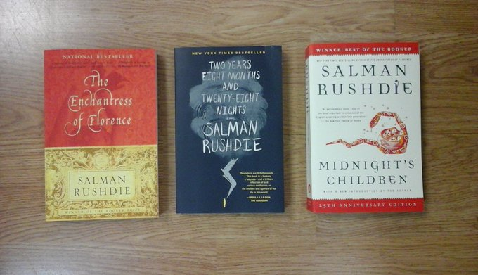 Happy Birthday Sir Salman Rushdie.