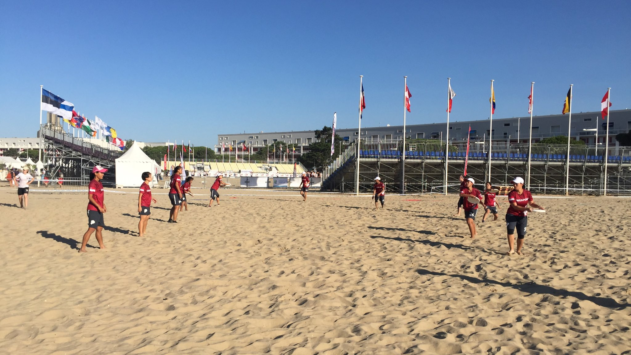 Welcome to day 2 of #WCBU2017 in Royan! #SIN #WMN take on #SUI in 20 mins. https://t.co/mu4hWNR5jJ <a href='https://twitter.com/SingaporeDisc/status/876691323264356353/photo/1' target='_blank'>See original »</a>