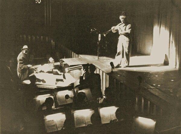 #HarpoMarx and #ChicoMarx performing