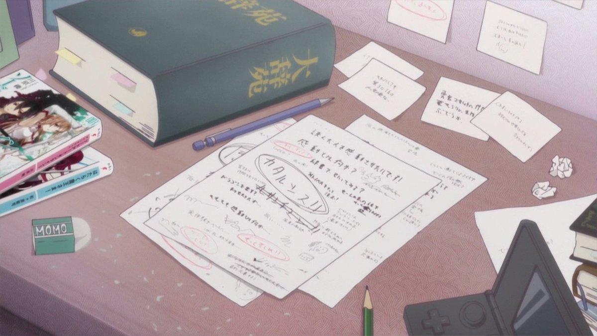 エロマンガ先生11話その3 正宗はSAOとはたらく魔王さま!を読んで、正宗パパは禁書目録を読むとかいう良い遺伝。とにかく