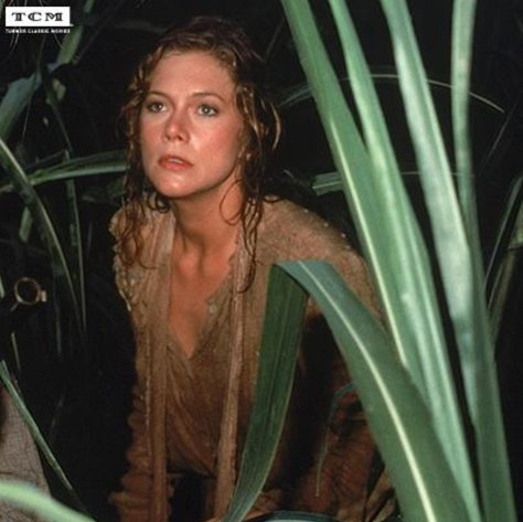 Happy Birthday to Kathleen Turner , who turns 63 today. Can you name the film?