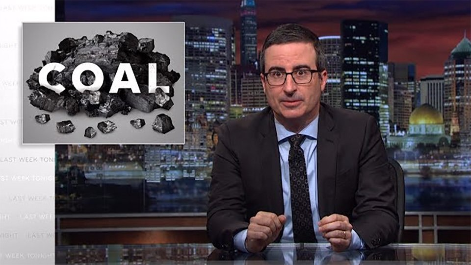 John Oliver goes on epic rant about Trump's promise to help coal miners https://t.co/j49FOEgueA https://t.co/gF3eXtxEgd