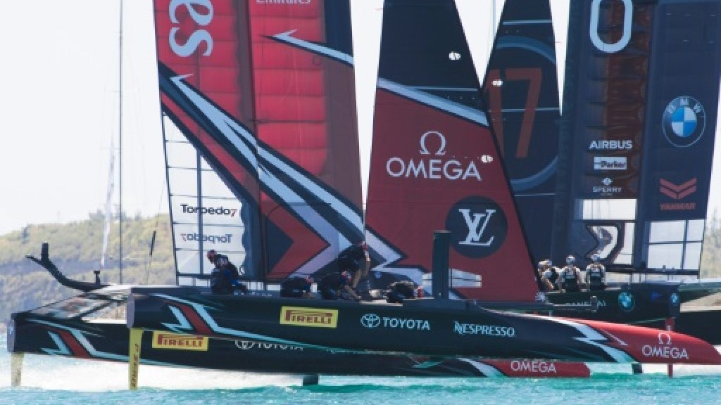 USA scrambling in face of Kiwi yacht Cup dominance