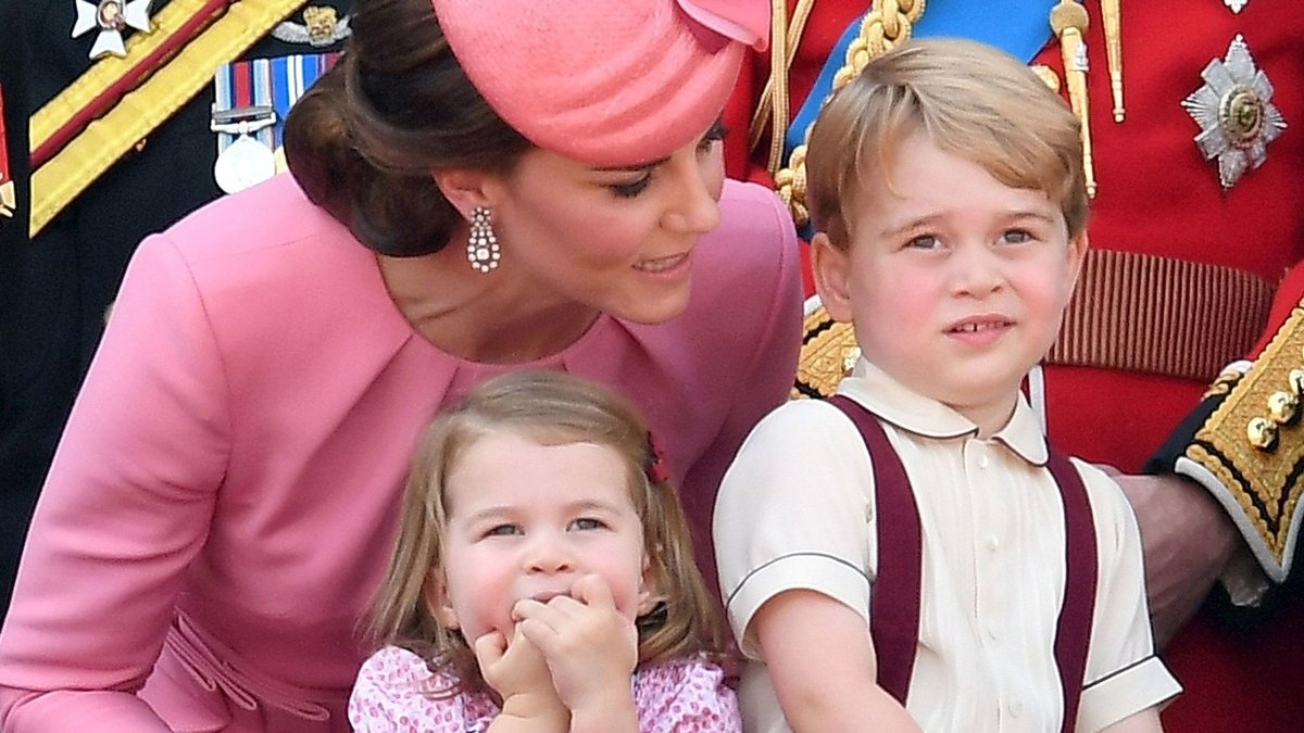 Prince George and Princess Charlotte stole the show at the Queen's birthday