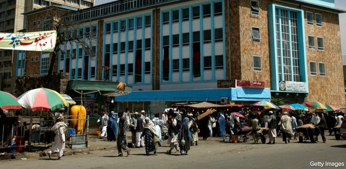 American citizen living in Afghanistan kidnapped on his way to work, police in Kabul say.