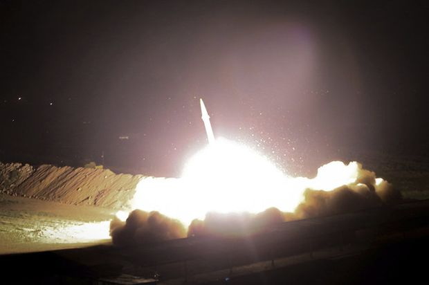 Iran: Missile attack on Syria militants a wider warning to US, Saudi Arabia