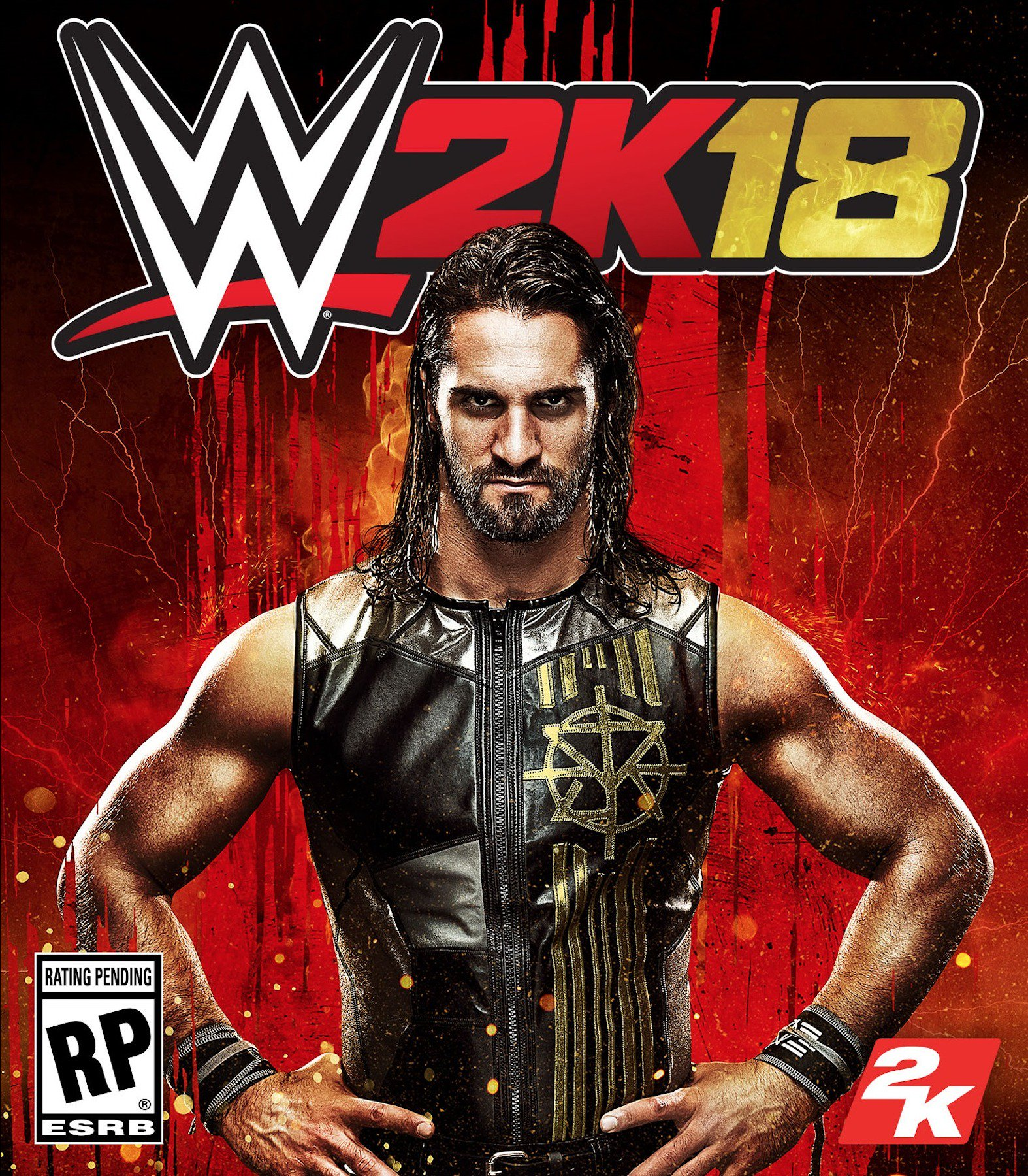 On the cover of WWE 2K18 ... the King Slayer. https://t.co/nYMrG1mjBx