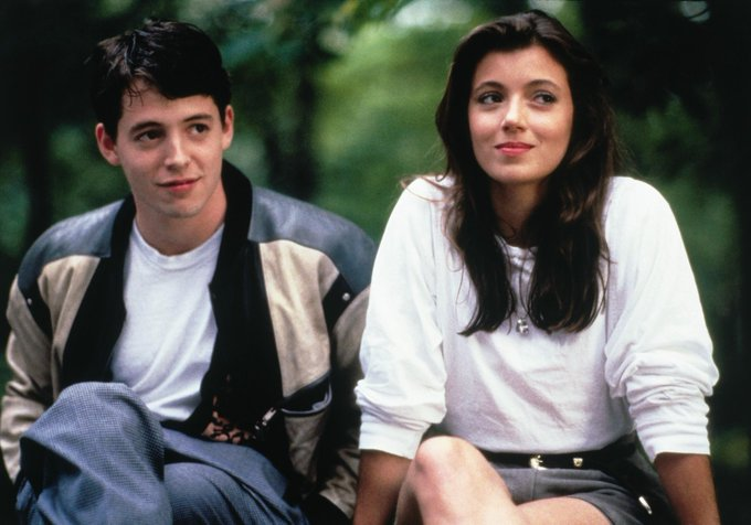 Wishing Mia Sara a happy 50th birthday! You\ll always be the coolest girl in school in our book.