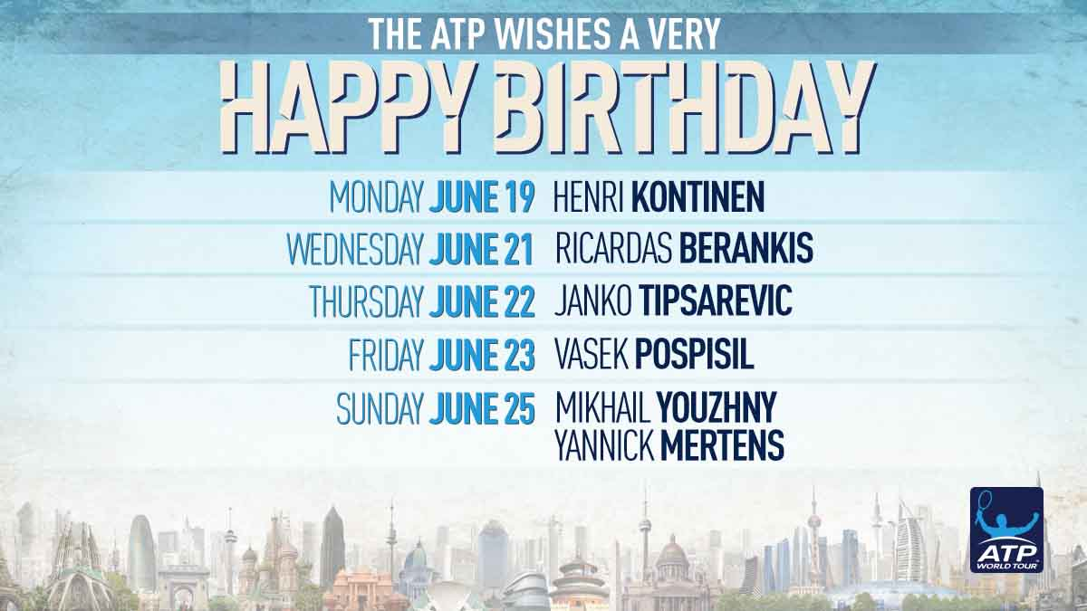 Happy Birthday to all our #ATP ��s celebrating this week! �� https://t.co/sqZGVfpcGj https://t.co/QDcZW3p0Ie