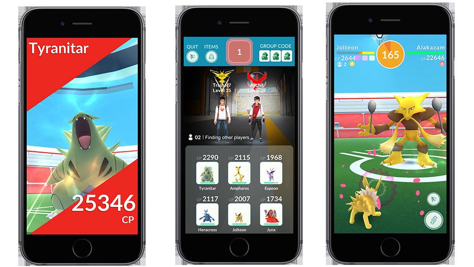 'Pokémon Go' is getting raids https://t.co/qftP7Yi0Cw https://t.co/BNt3ZDhf1s