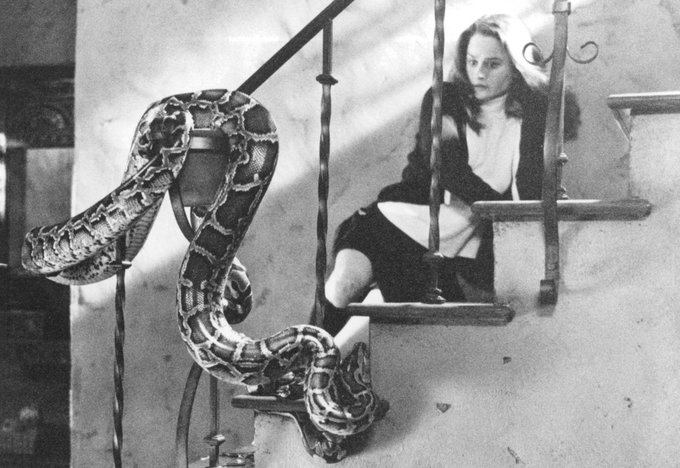 Happy birthday to Robin Tunney, featured here behind snake.