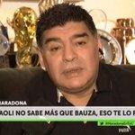 Maradona detona Sampaoli e diz que Verón fez convocação da Argentina