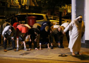 Europe: Van rams worshippers leaving London mosque, killing one person