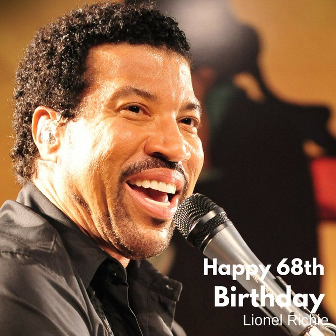 Happy 68th Lionel Richie! What\s your favorite song?
