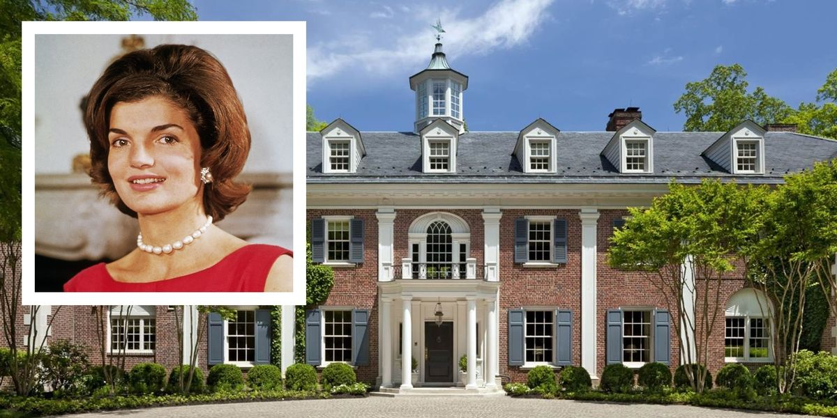 Jackie Kennedy's Childhood Home in Virginia Is on the Market for $49.5 Million https://t.co/7EGpZqmtqt https://t.co/EHruWMr5zk