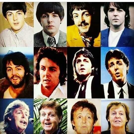 Happy Birthday 75 years Paul McCartney