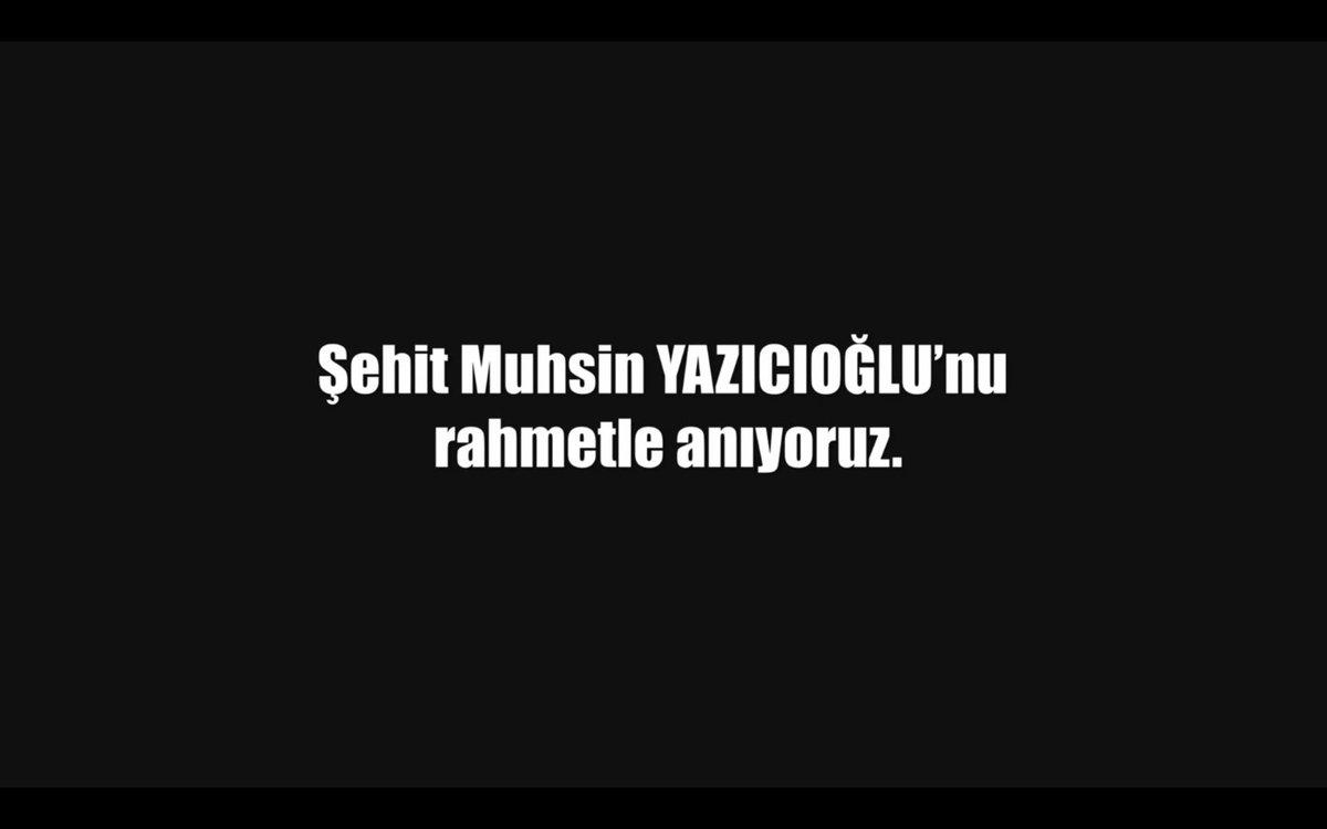 RT @Diziisimsizler: Şehit Muhsin Yazıcıoğlu'nu sevgi ve rahmetle anıyoruz! #ŞehitOluruz ölmeyiz! #İsimsizler https://t.co/V1OWWB03Dw