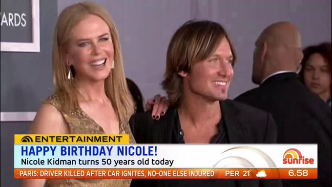 HAPPY 50th BIRTHDAY NICOLE KIDMAN!!
