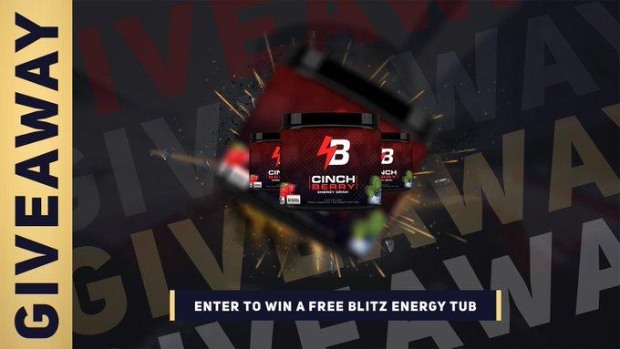 Blitz Energy Giveaway