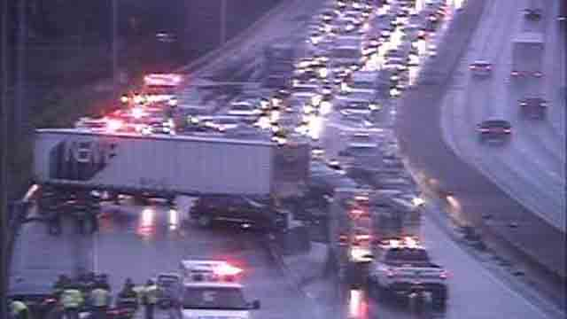 I-91 in New Haven reopens following tractor trailer crash