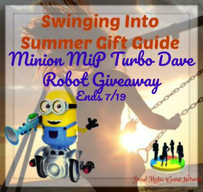 Minion MiP Turbo Dave Robot Giveaway!