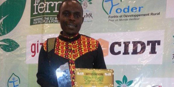 NMG's Cameroon writer honoured