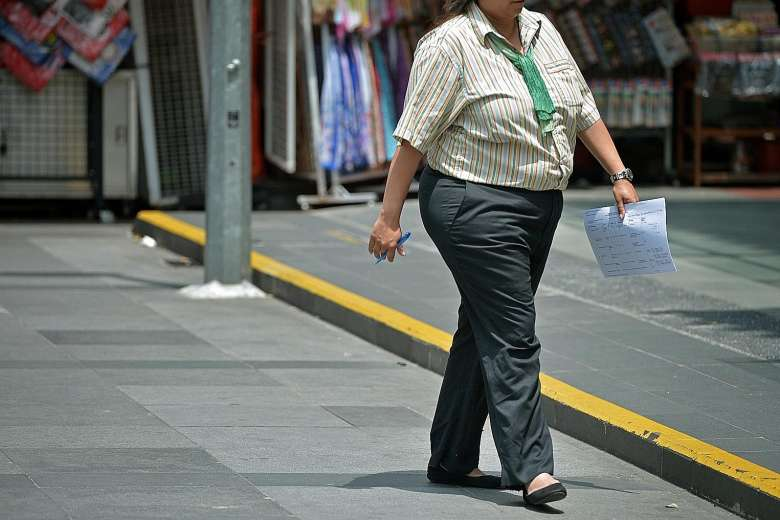 Singapore risks hitting obesity rates of 15% in seven years