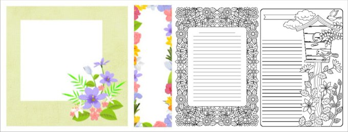 Free Printables from my page freebies coloring patterns bookmarks
