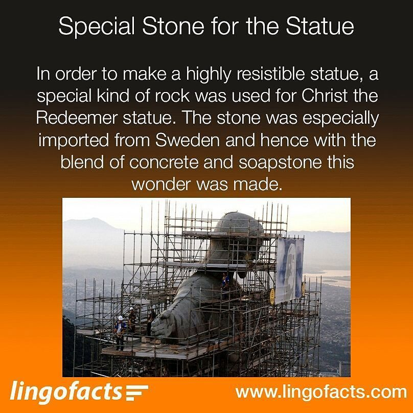 The amazing and special fact of the redeemer statue