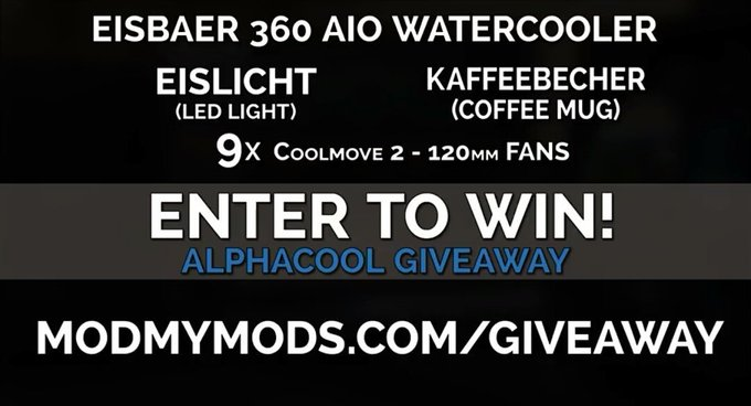 Enter To Win an Alphacool Prize Pack!