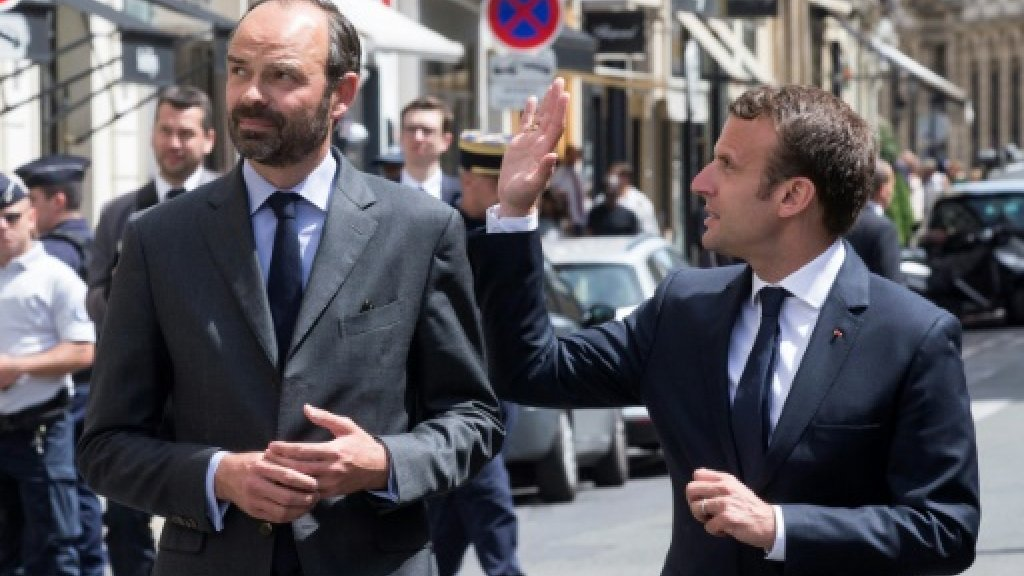 Macron reappoints Edouard Philippe as PM after Sunday's vote
