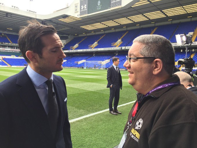 A very happy 39th birthday to my good friend and ex midfielder Frank Lampard have a great day Frank