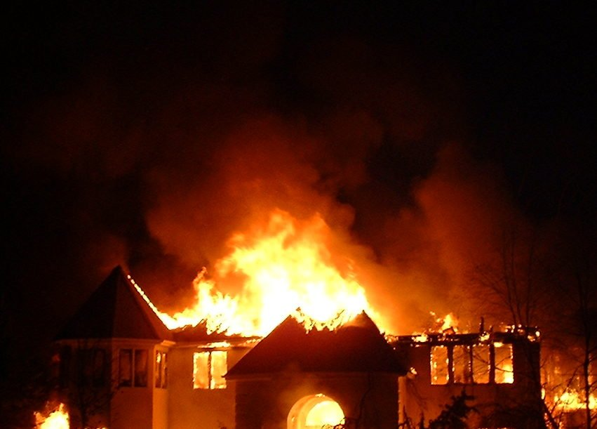 19-year-old man torches house after second wife marriage proposal