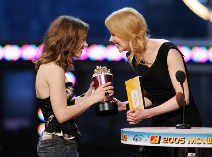 Happy Birthday, Nicole Kidman! Nicole presented Rachel the MTV Breakthrough Award in 2005.