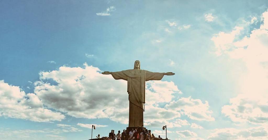 Glorious. #ChristTheRedeemer #riodejaneiro
