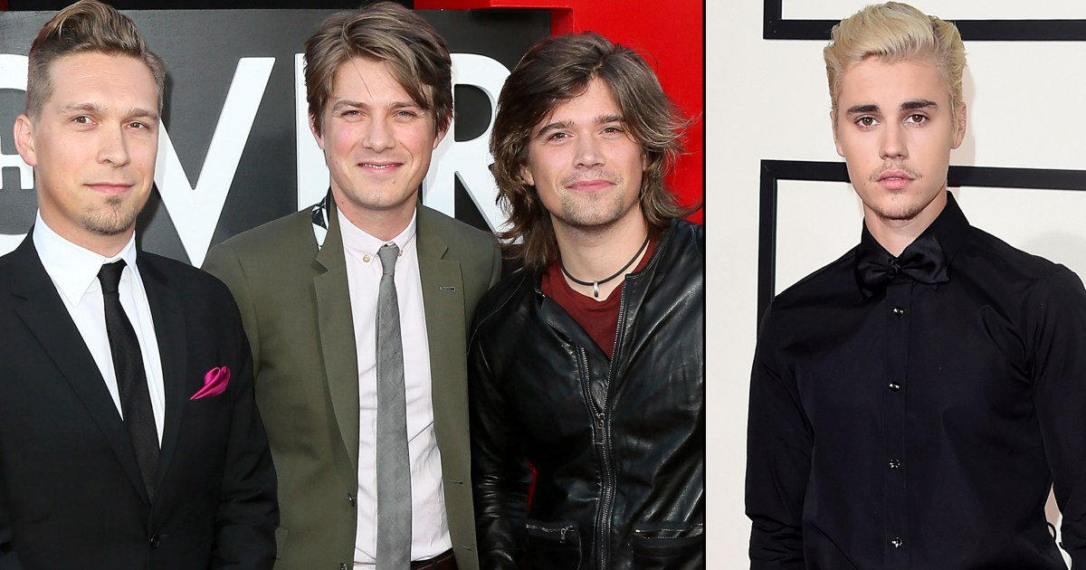 "The Hanson brothers call Justin Bieber's music ""chlamydia of the ear"":"