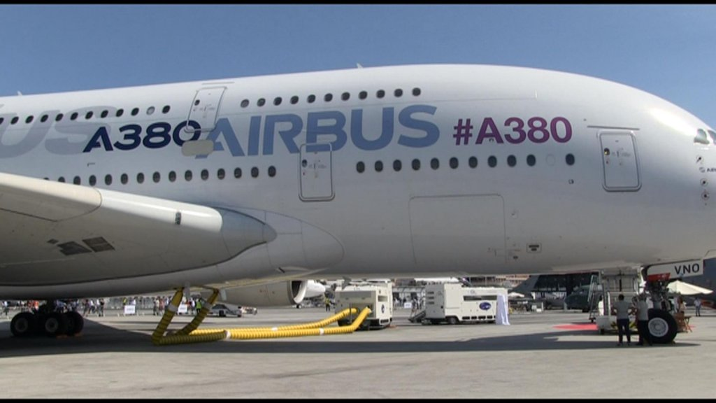 BUSINESS DAILY - Airbus, Boeing show off latest jetliners at Paris Air Show