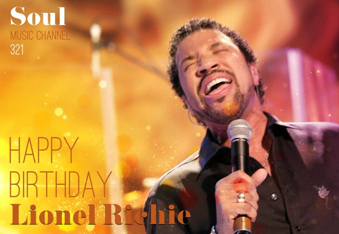 Happy Birthday to singer-songwriter, actor and record producer Lionel Richie