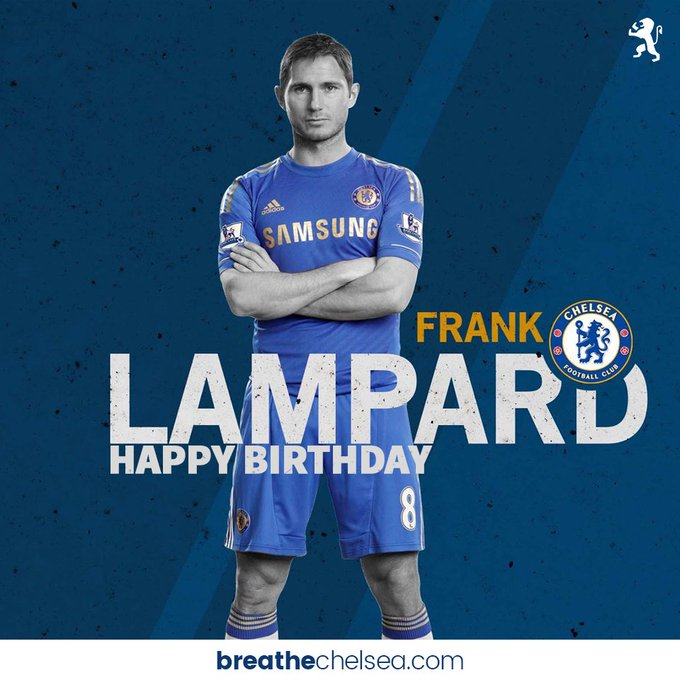 More goals than any other Chelsea player  Won every trophy there is to win Happy Birthday Frank Lampard