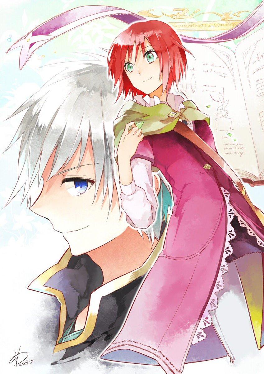 みんな久しぶり!!俺最近通学の時にアニメ見てるんだけど今とてもはまっているアニメが「赤髪の白雪姫」!!!!!これちょーお