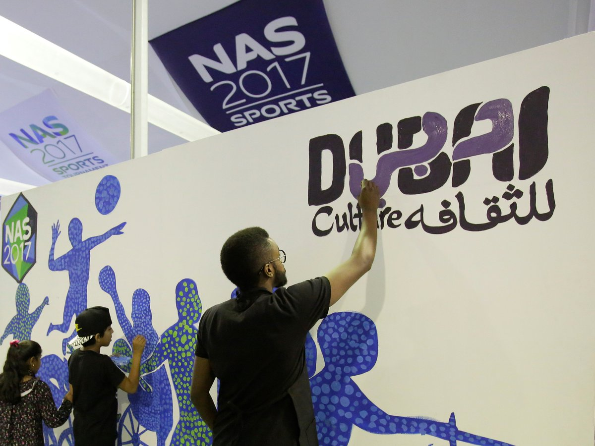 Dubai Culture recently participated in a colouring therapy session during the @NASSportsDubai Ramadan Tournament https://t.co/yFfprhs7RX