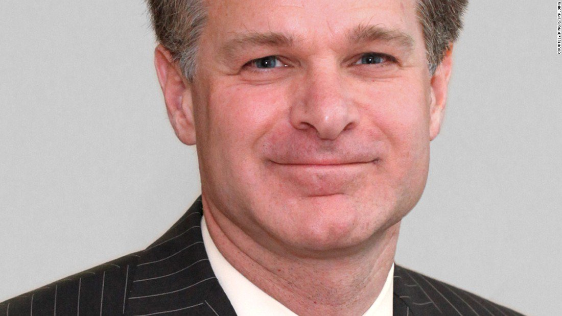 FBI director nominee deleted line in bio showing him at odds with Russia