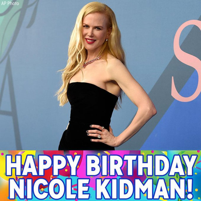 Happy 50th Birthday to Nicole Kidman!