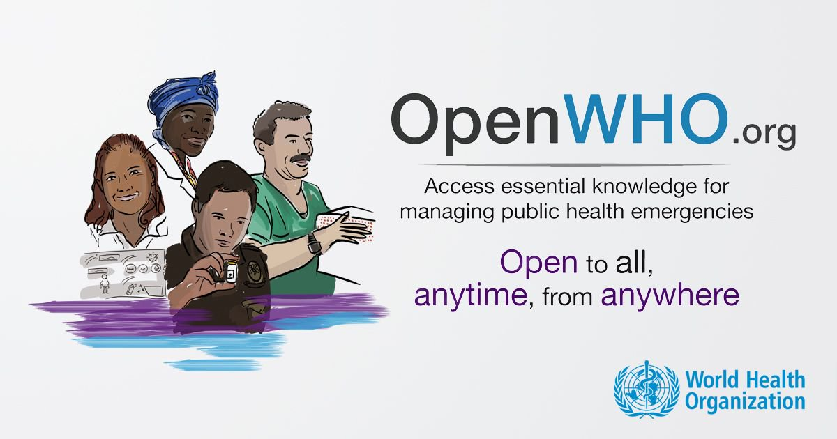 test Twitter Media - OpenWHO - new interactive platform with plenty of online courses on epidemics and health emergencies. Check it out!  https://t.co/hB3nVdqCbu https://t.co/q8qw3UxjG7
