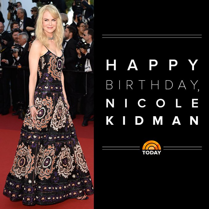 Happy 50th birthday, Nicole Kidman!  via TODAYshow