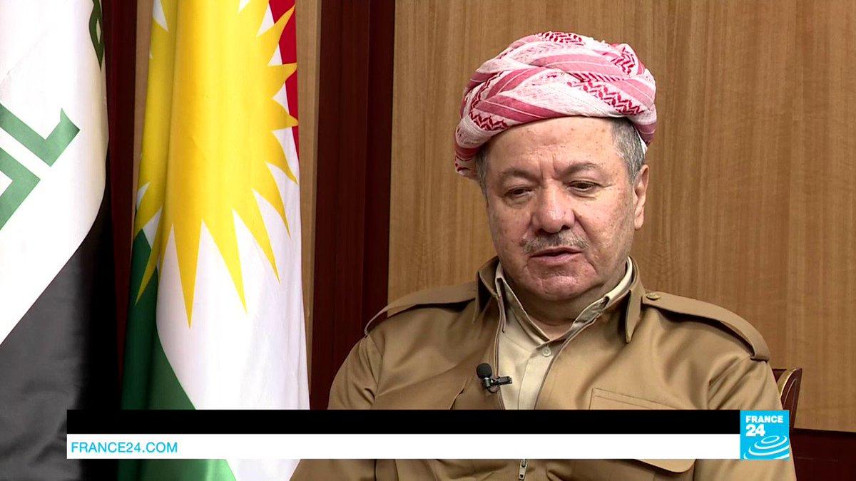 ?? Iraq: Kurdish Leader Barzani reacts to deaths of Iraqi and French journalists