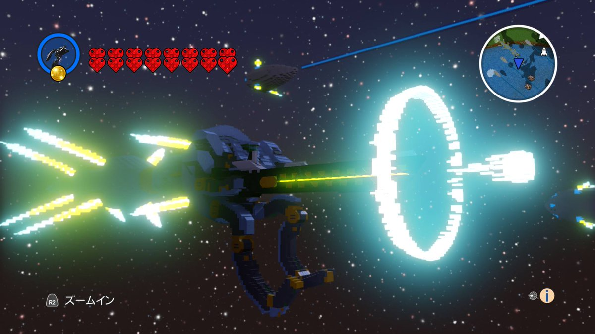 ニューアーハン完成です。戦闘シーンを再現しました。「いっけえぇぇ!」#レゴワールド #LEGOWorlds #楽園追放