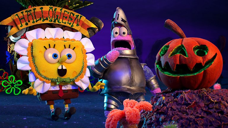 'SpongeBob SquarePants' gets Halloween-themed stop-motion special